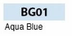 Aqua bleu