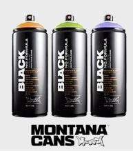 Montana Black   spuitbussen