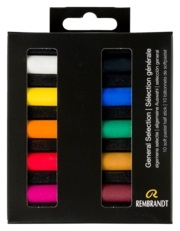 Pastelkrijt | Pastelpotloden | Rembrandt | Conte